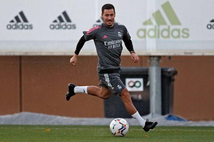 Débarrassé du Covid-19, Eden Hazard est de retour avec le Real.