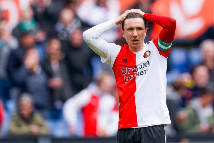 Ex-Feyenoorder Steven Berghuis werd eerder deze maand al bedreigd.