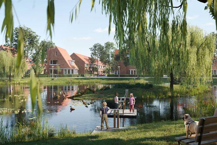 De eerste woningen van Tuinbuurt Vrijlandt gaan in de verkoop.