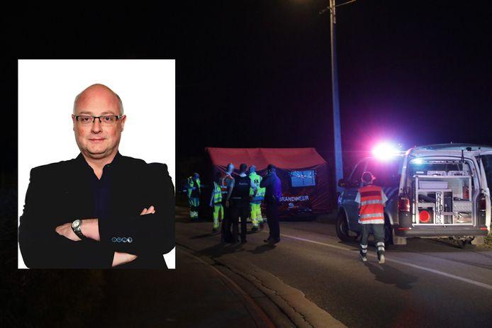 Leerkracht Patrick kwam vrijdag om het leven bij een ongeval op de Mosselbank in Vrasene.