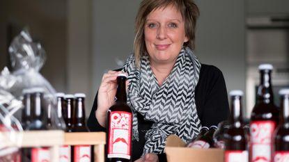 Liesbeth stelt nieuwe Cuvée Verhaeren voor