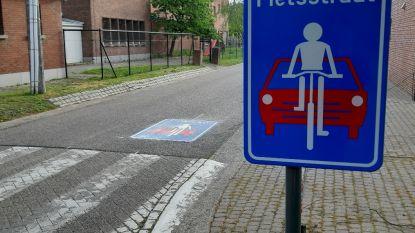 Varendonksesteenweg is eerste fietsstraat van Herselt