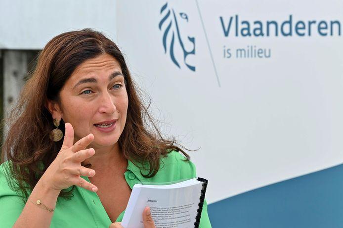 Minister van Omgeving Zuhal Demir (N-VA)