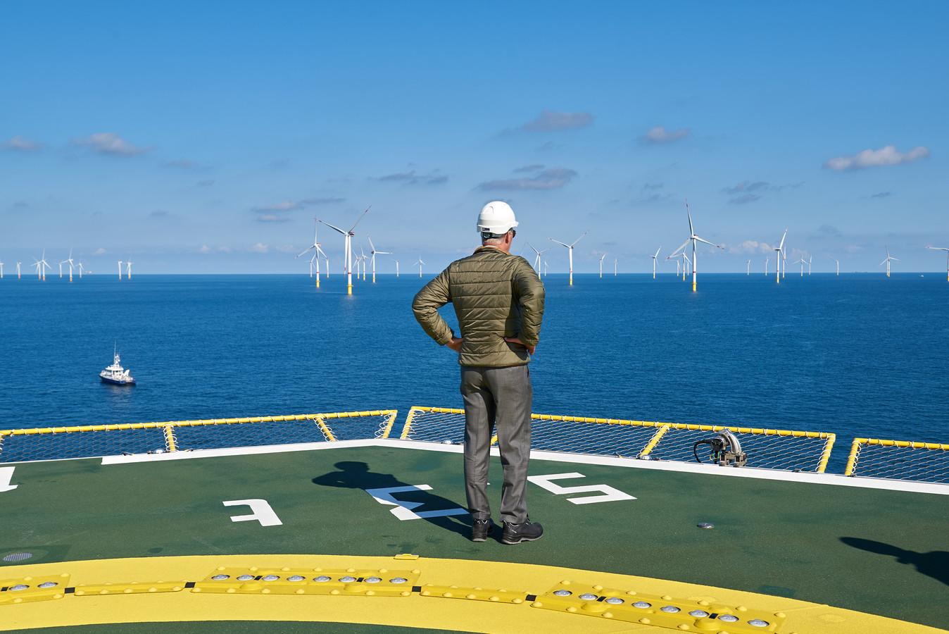 Windenergie op zee.