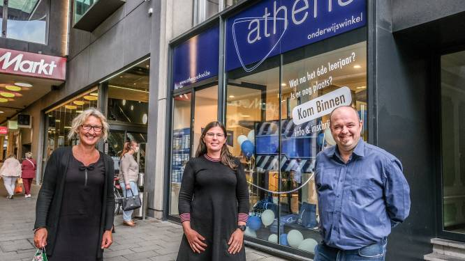 Athena opent eerste onderwijswinkel in Kortrijk