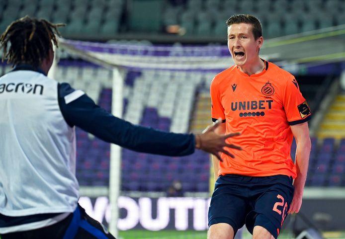 Hans Vanaken a montré la voie du titre au Club de Bruges, jeudi soir, à Anderlecht.