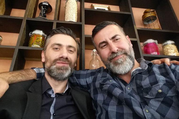Ahmet Koç en Dyab Abou Jahjah gingen allebei deelnemen aan de verkiezingen. Geen van de twee staat uiteindelijk op een lijst. Beeld Twitter