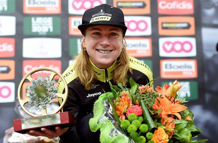 Annemiek van Vleuten is vandaag een van de topfavorieten in La Course.