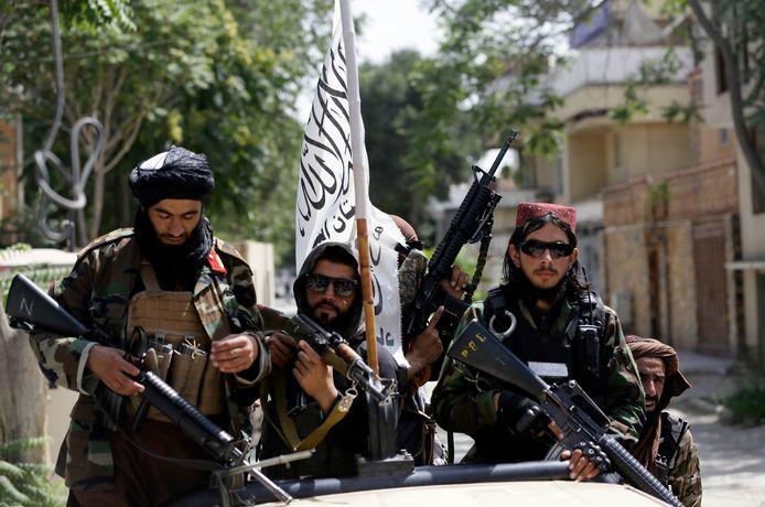 Taliban in Kaboel.