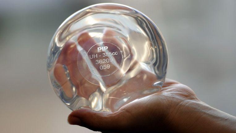 PIP implantaten leidden eind 2011 tot veel onrust. Beeld afp