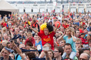 """De WK-feestjes op de renbaan is Oostende zijn zo legendarisch dat de Rode Duivels ook al eens naar de Wellington afzakten voor een fandag. """"Ni is er nog niets gepland"""", klinkt het daar. """"Al kunnen we snel schakelen als het nodig is."""""""