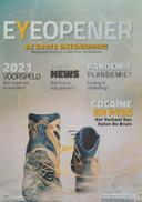 De cover van Eyeopener, het blad dat Jaap Dieleman in heel Nederland laat bezorgen.