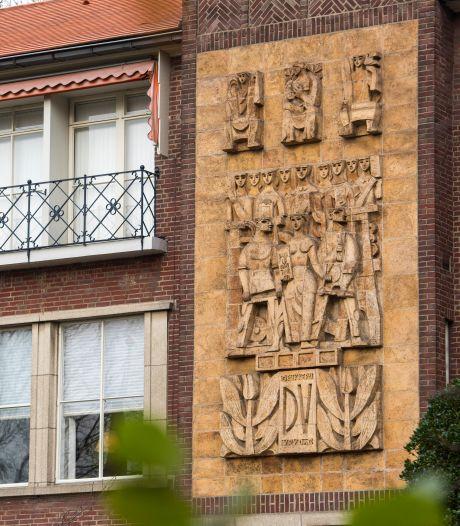 BuitenBeelden: Een enorm muurreliëf aan de rondweg, maar wat is het?
