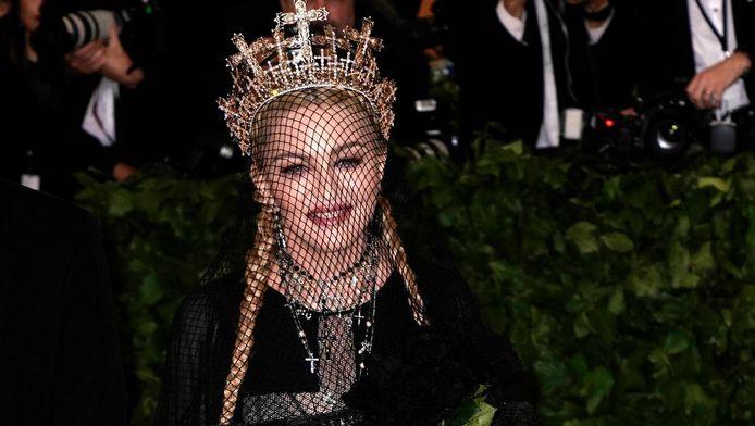 Madonna a chanté pour le gala du Met