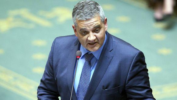 Minister van Defensie Vandeput.