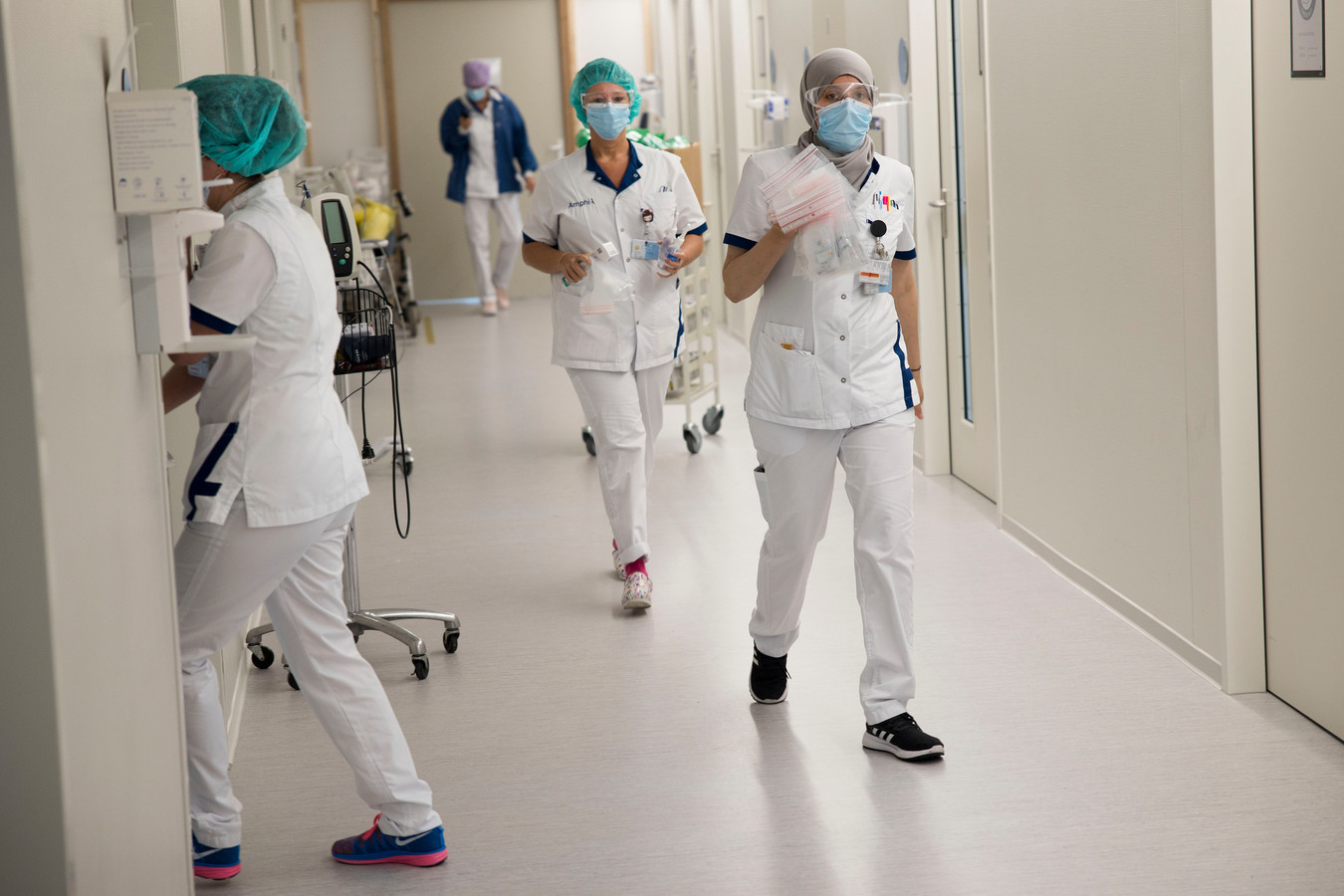 Verpleegkundigen in het Amphia Ziekenhuis