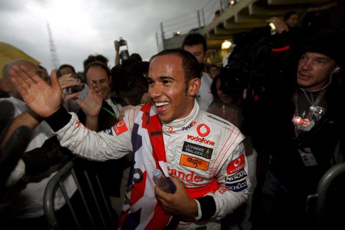 2008: Lewis Hamilton wordt de jongste wereldkampioen in de Formule 1.