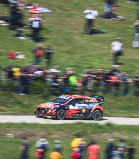 Thierry Neuville perd la première place du rallye de Croatie