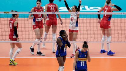 Servië kroont zich voor het eerst tot wereldkampioen in het vrouwenvolleybal