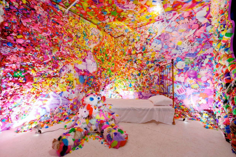 'Colourful Rebellion – Seventh Nightmare' door kunstenaar Sebastian Masuda.