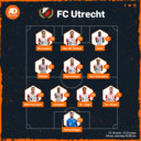 De vermoedelijke opstelling van FC Utrecht