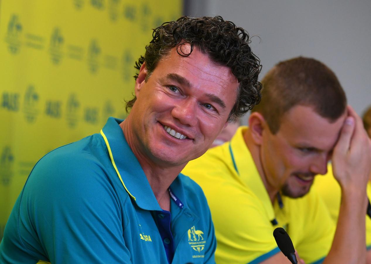 Jacco Verhaeren in sinds 2014 hoofdcoach van de Australische zwemmers.