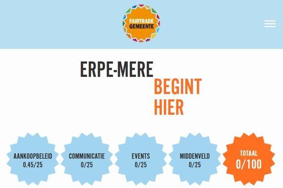 Erpe-Mere scoort niet bijzonder goed als Fairtradegemeente.