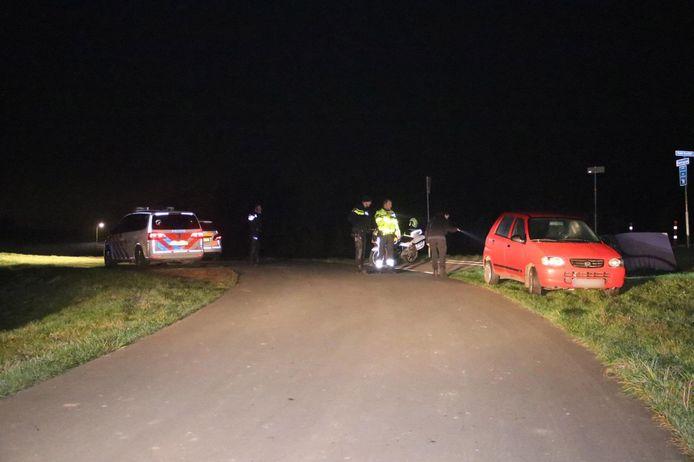 De rode Suzuki van een vermiste 51-jarige man uit Hengelo (G) werd gevonden in het Brummense buitengebied. Van de man ontbreekt vooralsnog ieder spoor.