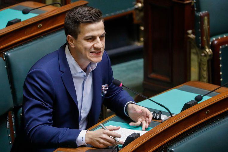 Dries Van Langenhove is federaal parlementslid. Beeld BELGA