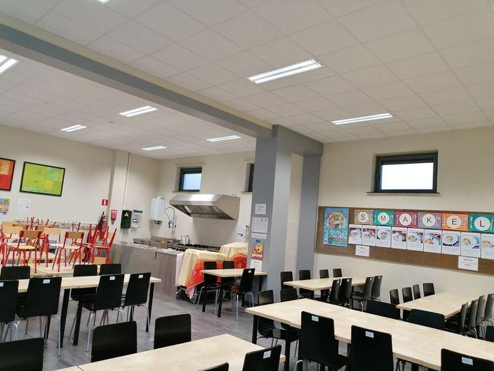 De klaslokalen blijven leeg in afdeling Trapstraat.