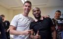 Cristiano met Mayweather in Abu Dhabi.