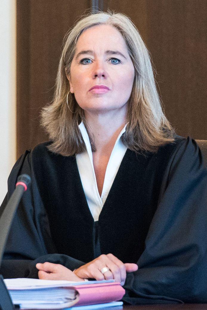 Rechtbankvoorzitter Anne Meier-Goering voor het voorlezen van het vonnis.