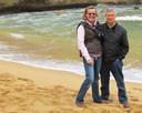 De ouders van Kees Onvlee, Fenneke en Peter.