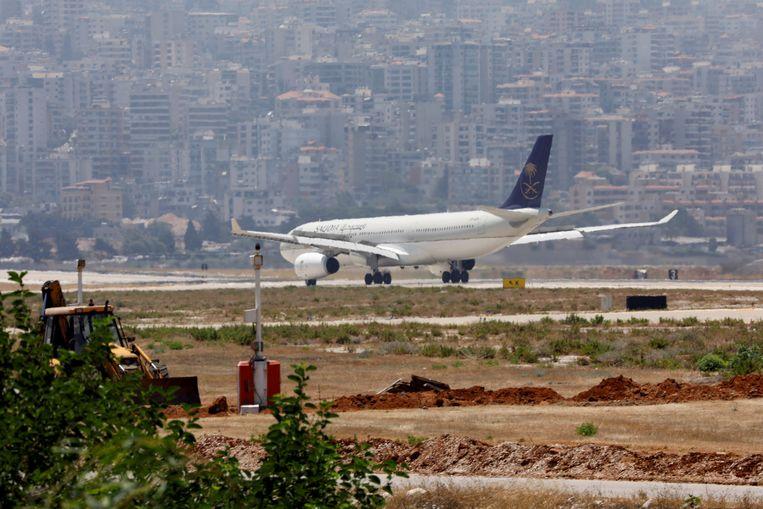 Een vliegtuig van Saudia. Beeld REUTERS