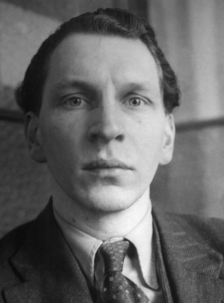 Componist en muzikaal wonderkind Marius Flothuis, 1946.  Beeld Archief Het Parool