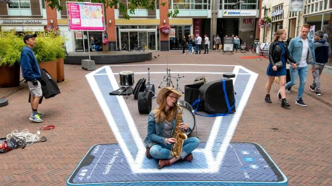 World Street Painting maakt van Arnhem met 3D-tekeningen een nog mooiere stad
