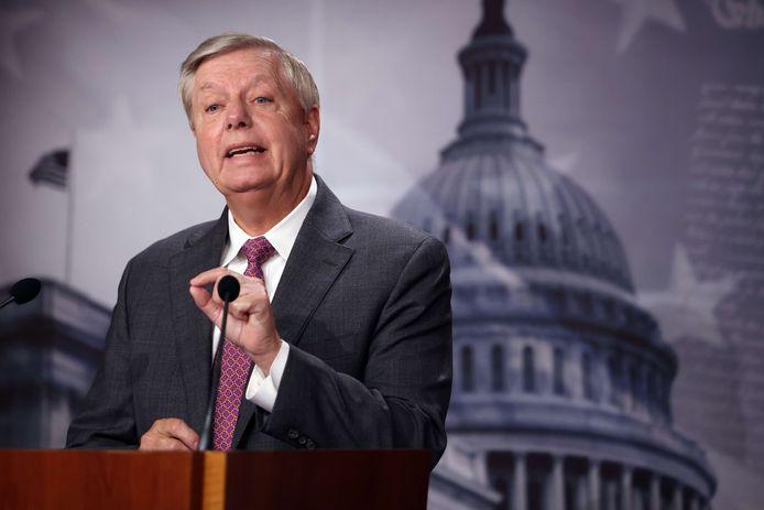 De Republikeinse Amerikaanse senator Lindsey Graham.