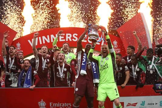 Leicester City won afgelopen weekend de FA Cup.