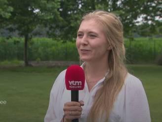 """Sarah De Bie apetrots op echtgenoot Wout van Aert: """"Hij heeft de koning al aan de lijn gehad"""""""
