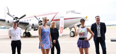 Svitolina verslaat Kvitova in finale op vliegveld Tempelhof in Berlijn