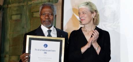 Kofi Annan trad in Middelburg in voetsporen van Nelson Mandela