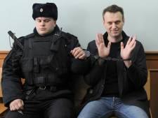 Opgesloten oppositieleider Rusland Navalny wint mensenrechtenprijs van EU