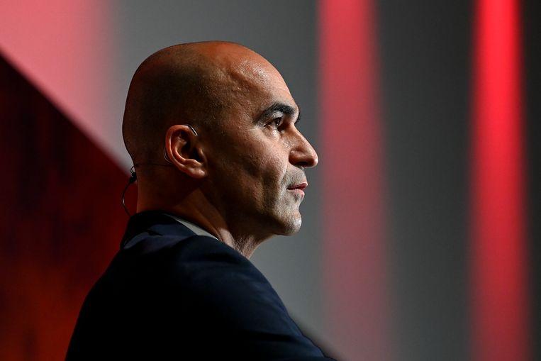 Bondscoach Roberto Martínez heeft nog een contract tot na het WK in Qatar in 2022. Beeld BELGA