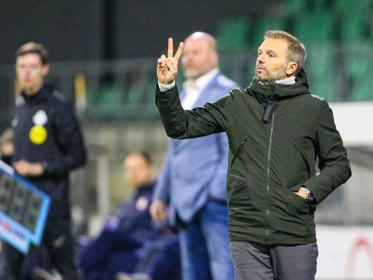 Maurice Steijn trekt lessen uit moeilijke wedstrijden: 'Worden nog spannende weken'