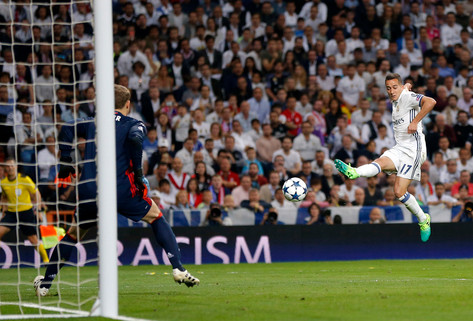 Foto van Ronaldo grote held van Real, geen nieuw mirakel voor Barça