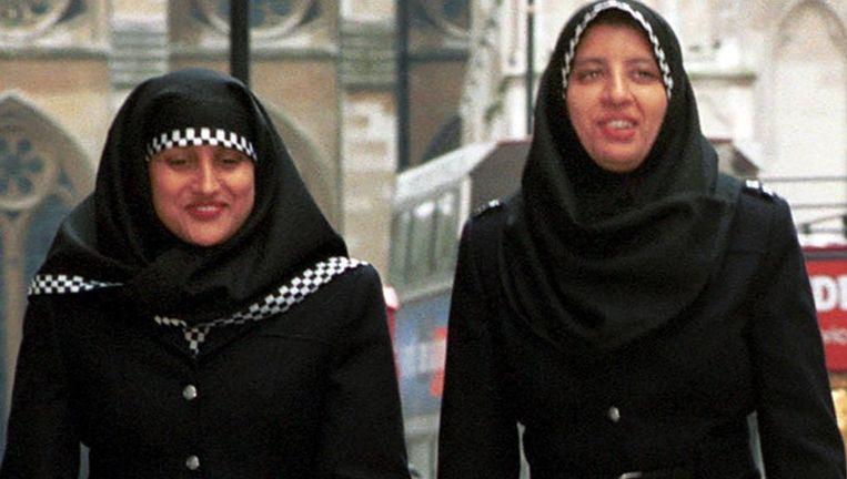 Agenten in Londen Beeld Metropolitan Police
