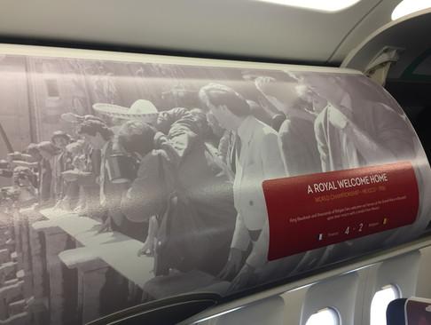 Foto van Rode Duivels zijn opgestegen richting Rusland