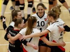 Volleybalsters Apollo 8 beginnen aan kampioenspoule met zege op Regio Zwolle