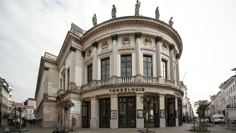 De Bourlaschouwburg in Antwerpen. Beeld BELGA