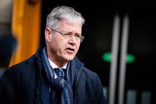 Minister Arie Slob voor Basis- en Voortgezet Onderwijs en Media.
